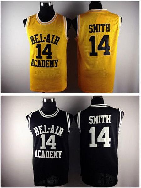 ed82e1023490 Carlton Banks Will Smith The Fresh Prince of Bel Air Academy Jersey Yellow  Black - NY Stop Shop - 1