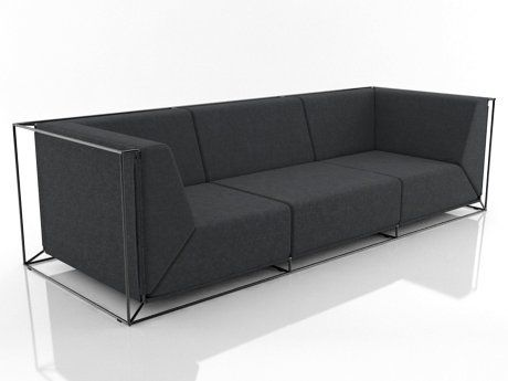Comforty Floating Sofa 3d Model | Philippe Nigro