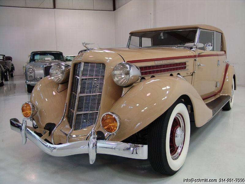 1935 AUBURN 851 SUPERCHARGED PHAETON CONVERTIBLE Classic