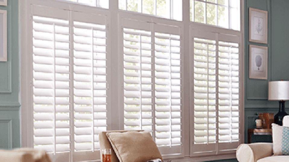 Window Treatments The Home Depot Window Shutters Indoor