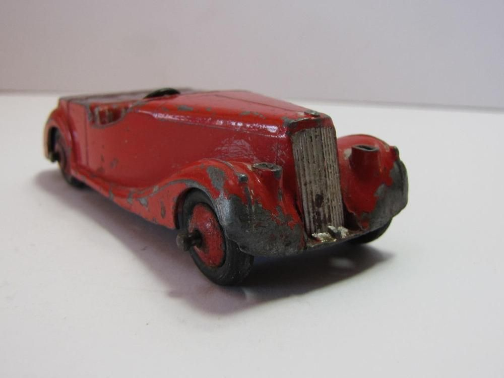 COLLECTIBLE DIE CAST Barn Find 1940 S Sunbeam Talbot Roadster Toy Car