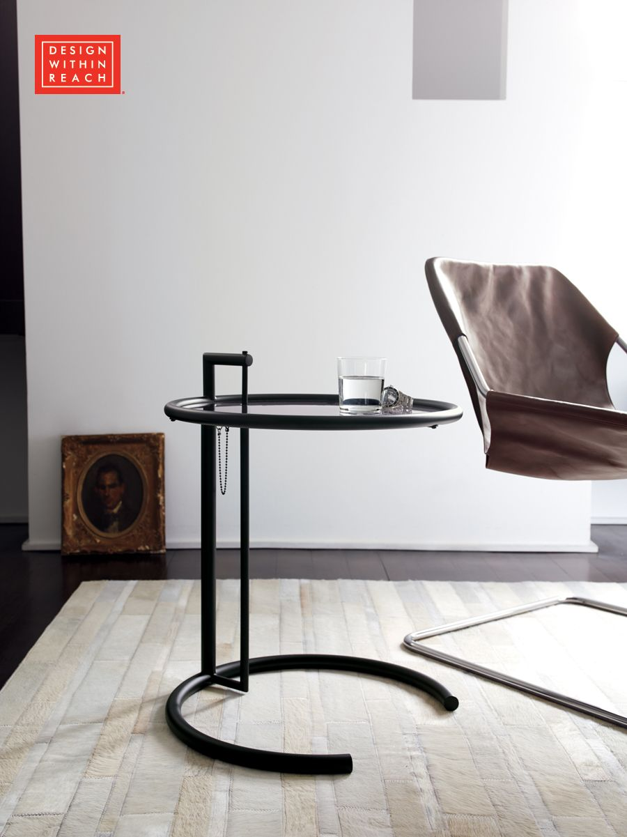 Adjustable Table E1027 | Designed By Eileen Gray, Produced By ClassiCon |  Design Within Reach