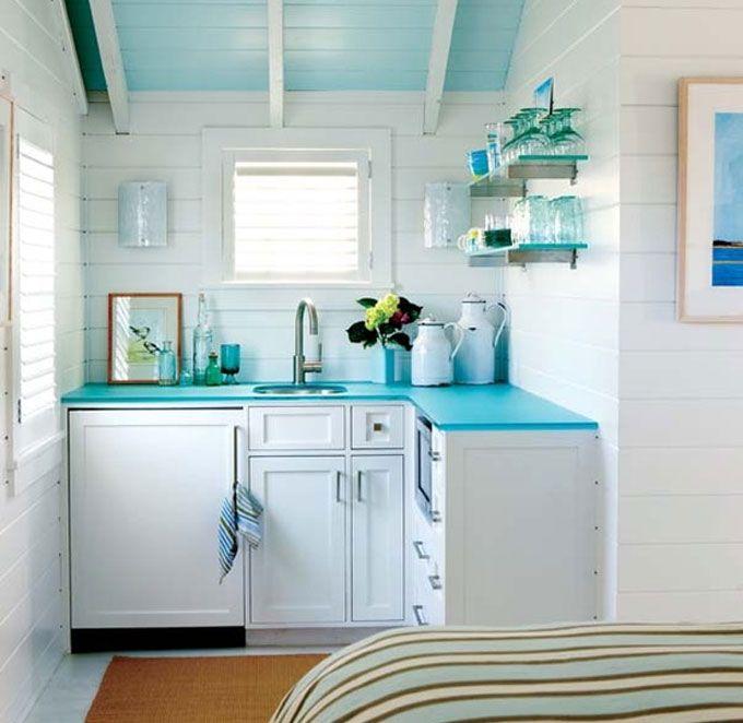 ideas para decorar y organizar cocina pequea