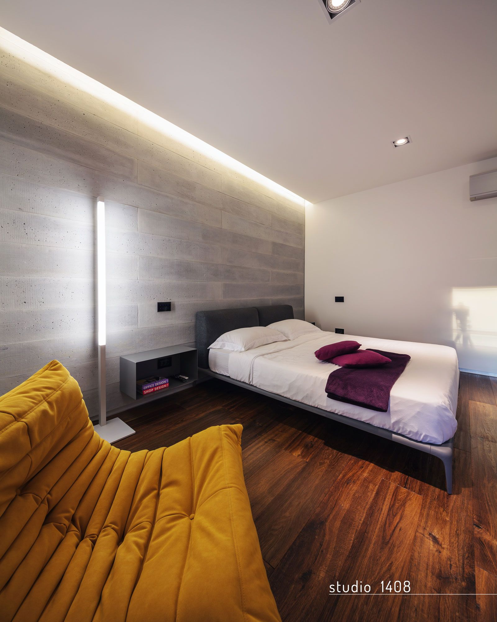 Looking For A Studio Apartment: LED Lighting For Bedrooms In