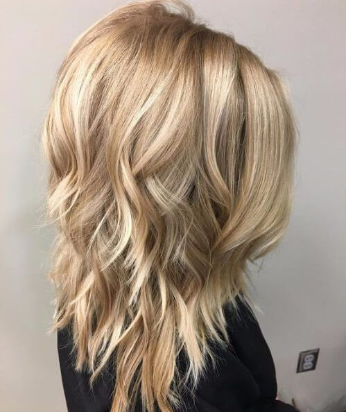 Beige Blonde Layered Haircuts Hair Styles Hair Styles