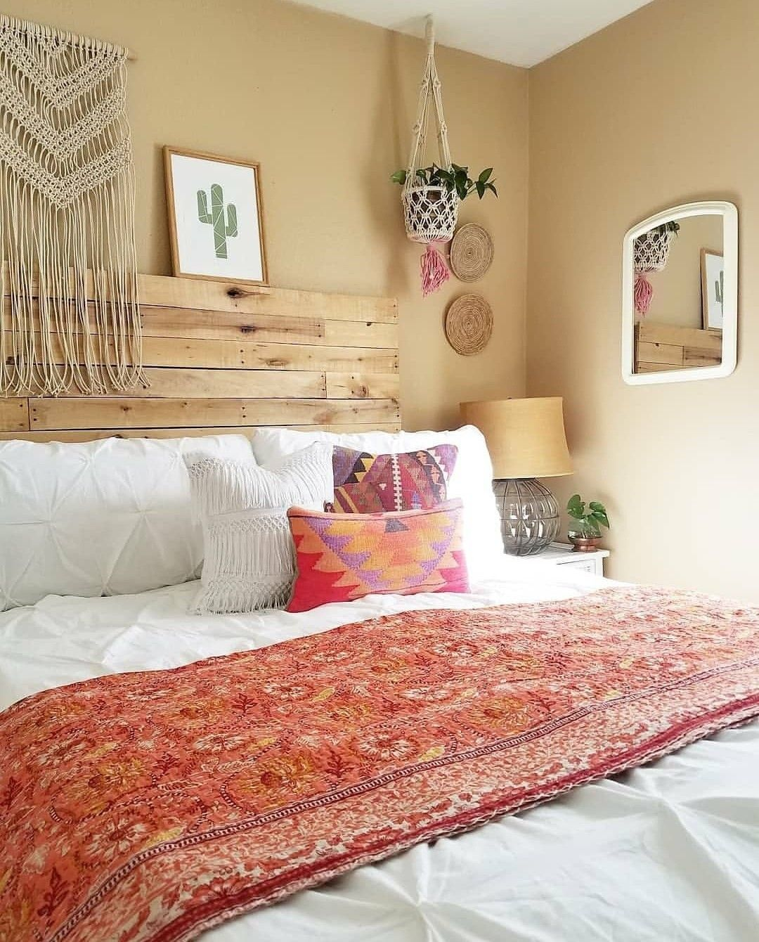 Pin by bohoasis on Boho Tapestry & Bedding | Bedroom decor ... on Boho Bedroom Ideas On A Budget  id=97925