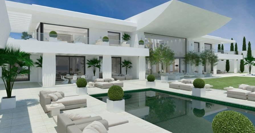 Sotronto grande design house, Spain   Cribs   Pinterest   Grand ...