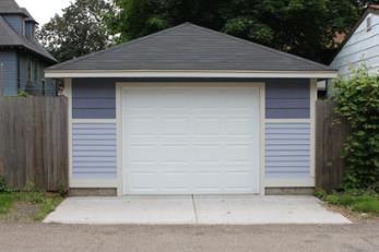 St Paul Garage 16x22 Hip Roof Garage Builders Garage Design
