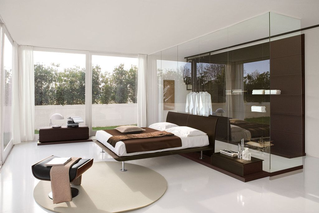 Awesome Small Bedroom Contemporary Italian Bedroom Furniture Design