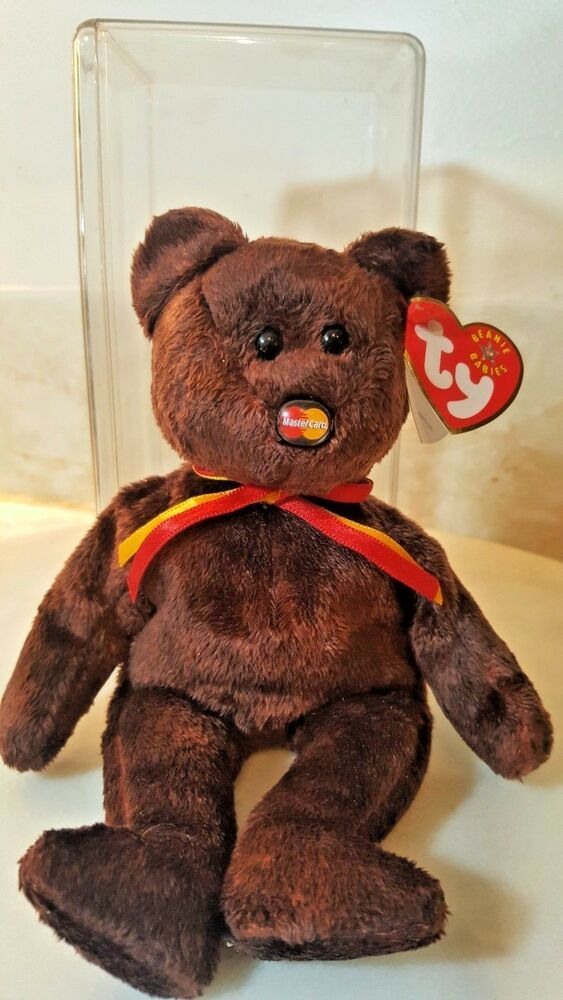 613fb2d428a Details about Beanie Babies TY M.C. mastercard 2001 ty inc- MWMT in ...