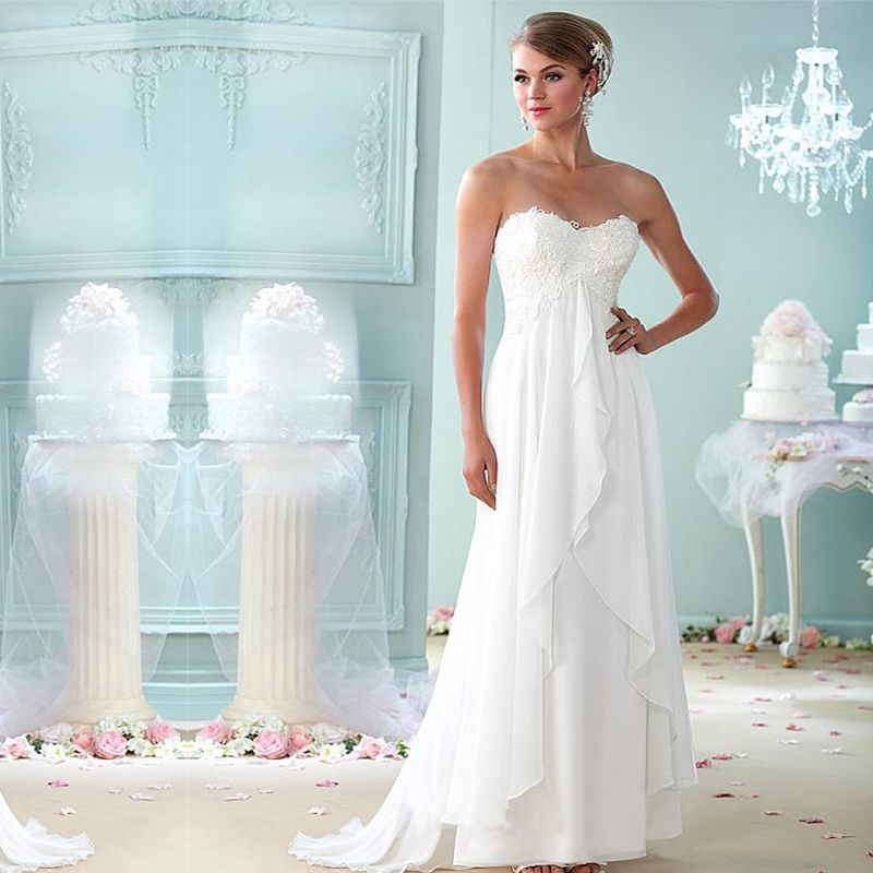 Find More Wedding Dresses Information about 2016 White Empire ...