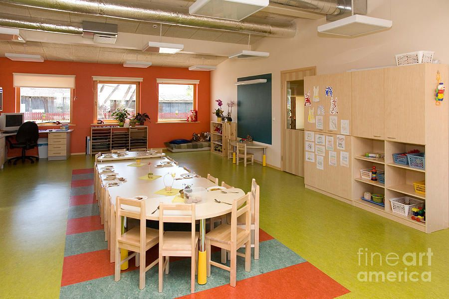 Art Classroom Interior Design