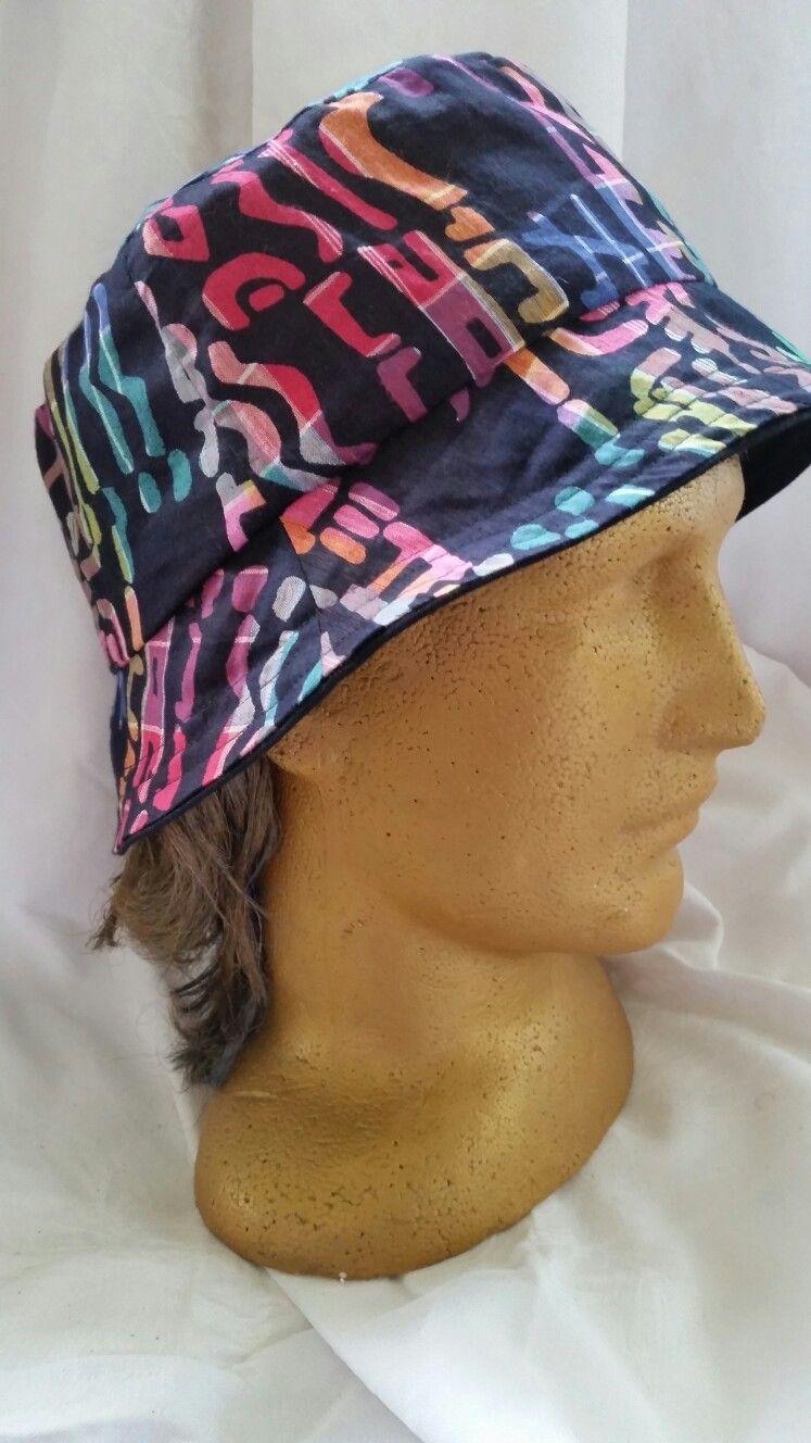 Reversible Bucket Hat Made Xxl To Fit Over Dreadlocks Hat Making Bucket Hat Hats