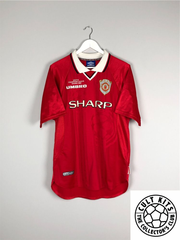 Eric Cantona Signed Manchester United 1998 Home Soccer Jersey Autographed Memorabilia