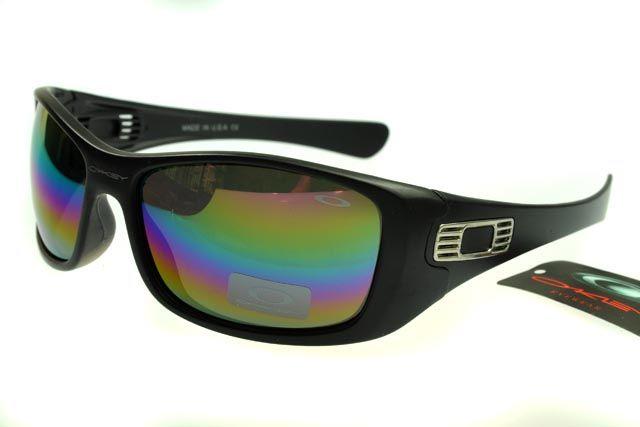 78019460855 Oakley Lifestyle Black Frame Rainbow Lens outlet8688  hot sunglasses 8688   -  12.99   Fake Oakleys