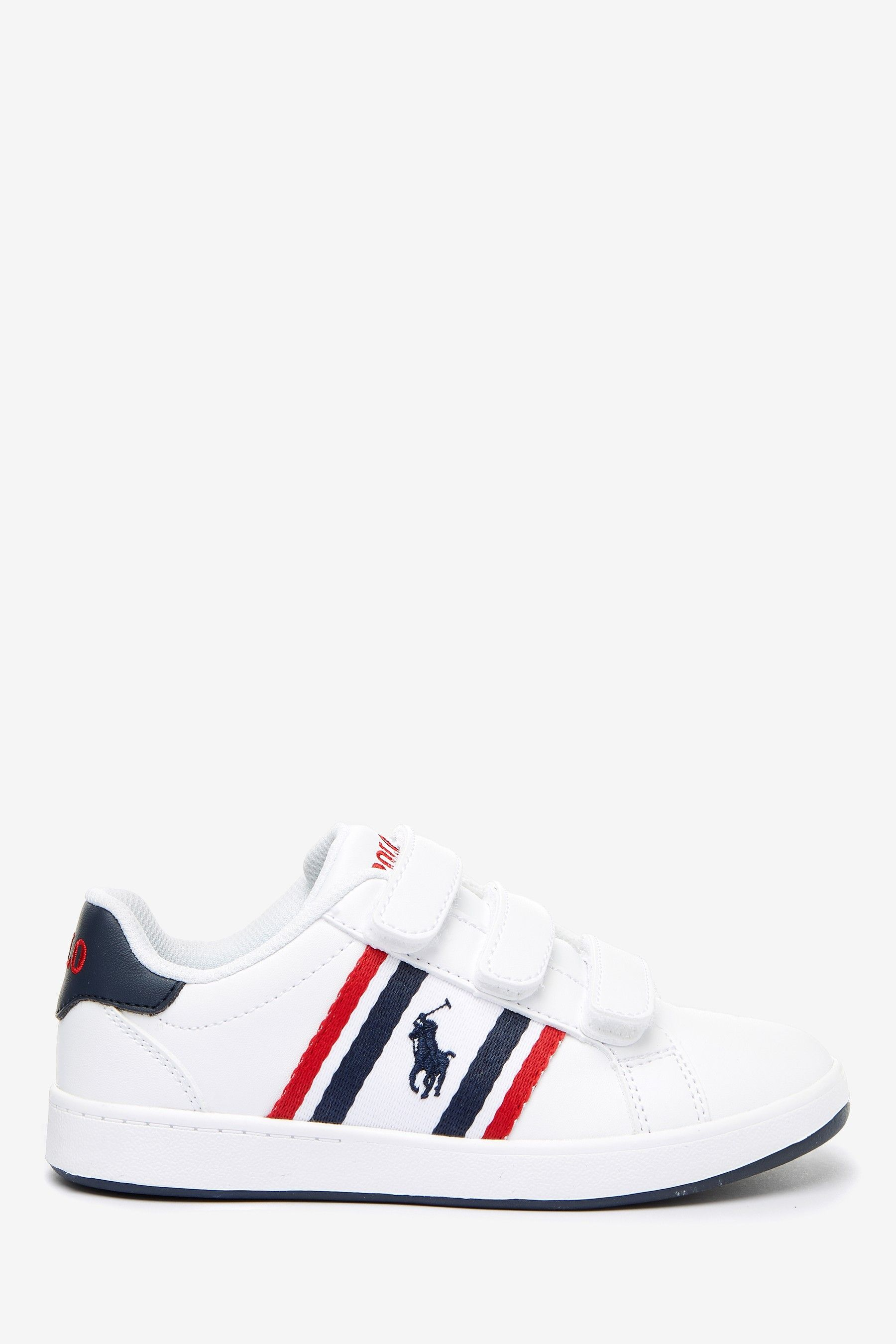 Buy Polo Ralph Lauren White Oaklynn Toddler Trainers from the Next UK online shop