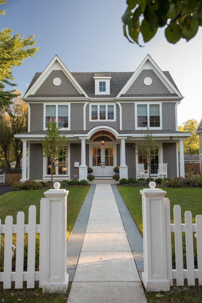 21 Stunning Modern Exterior Design Ideas: 17 Gorgeous Traditional Home Exterior Designs You Will Find Inspiration In