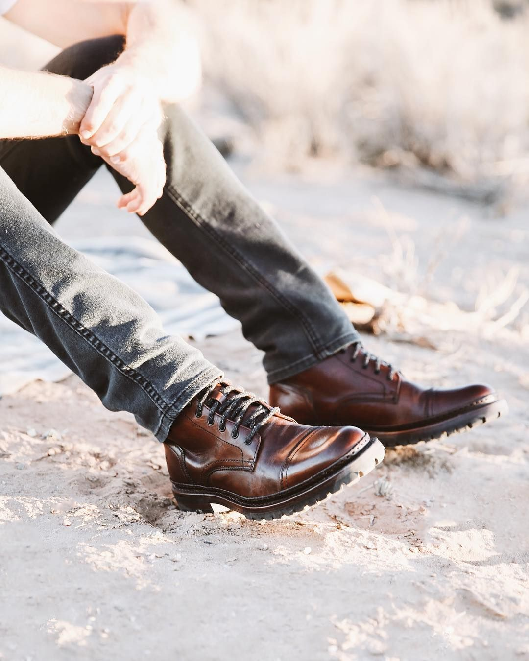 George Norwegian Cap Toe Boots