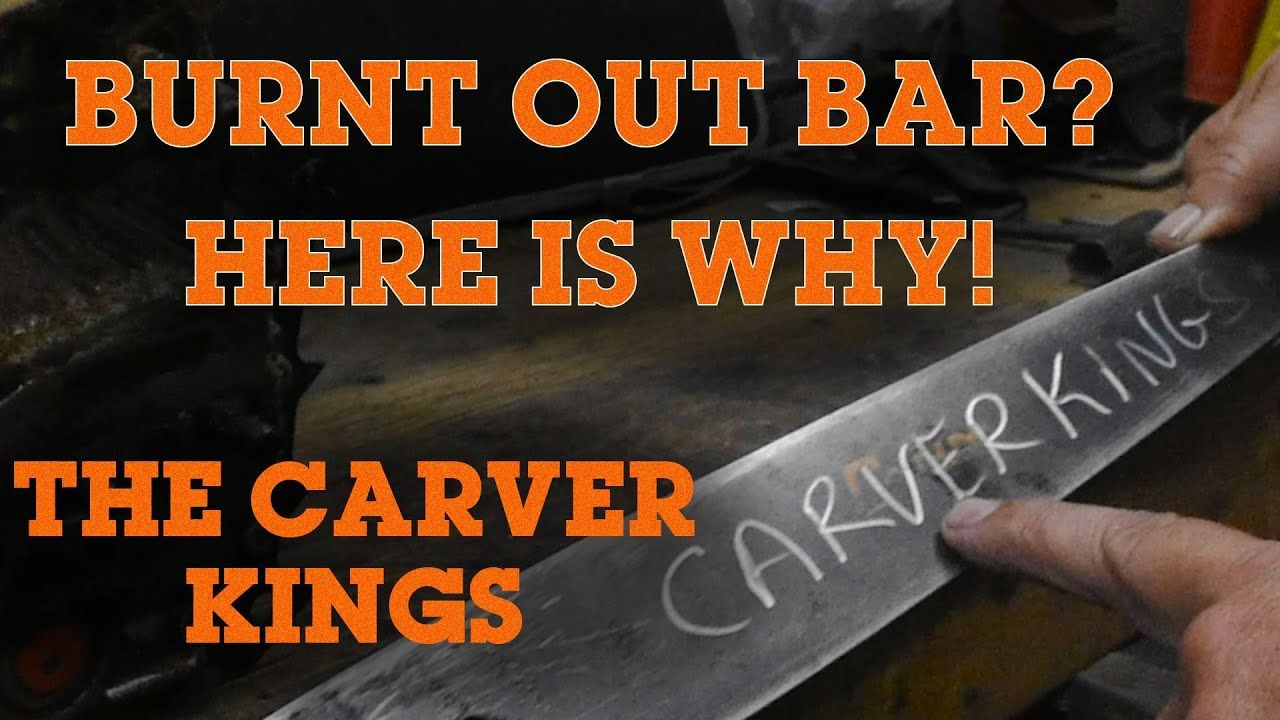 Chainsaw carving bar burning heres why and how to fix
