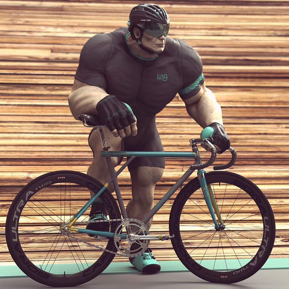 Track Cycling's Most Famous Fake Sprinter http://www.bicycling.com/culture/art/track-cyclings-most-famous-fake-sprinter