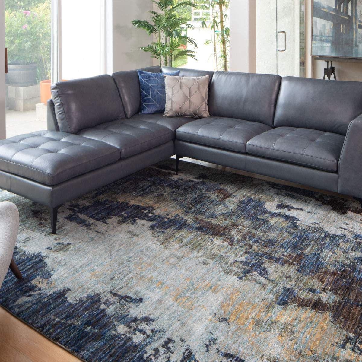 Slater In 2020 Contemporary Sectional Sofa Contemporary Sofa Modern Apartment Decor