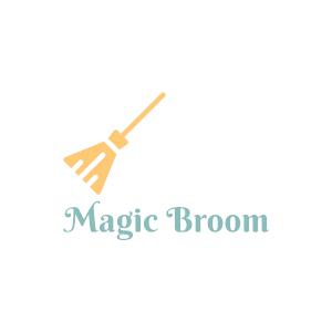 cleaning logo magic broom