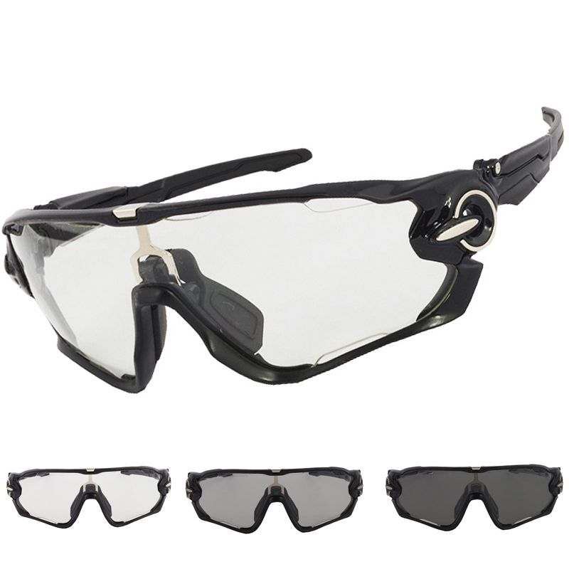 2017 Brand New Photochromic Men Women Uv400 Cycling Eyewear Sports