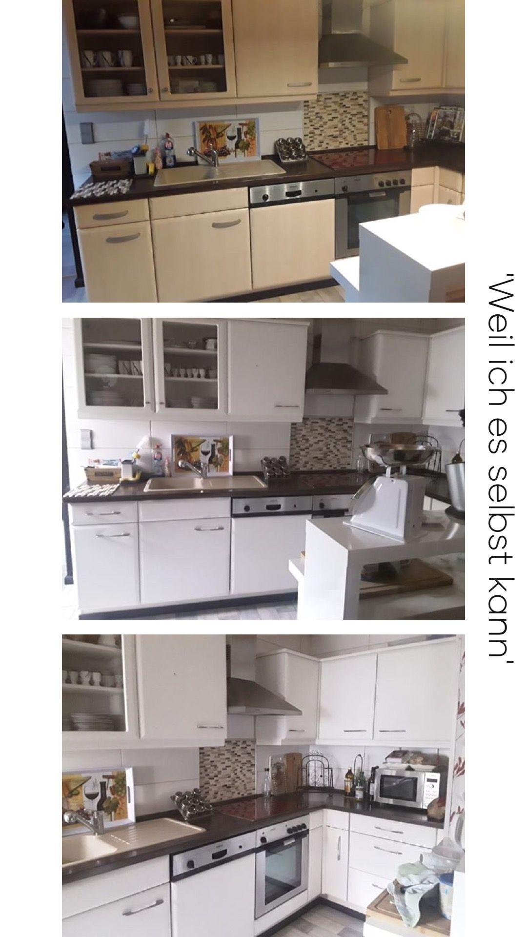 Küche Streichen Mit Kreidefarbe Und Kreidelacken Misspompadour Küchen Streichen Küchen Renovieren Ideen Umbau Kleiner Küche