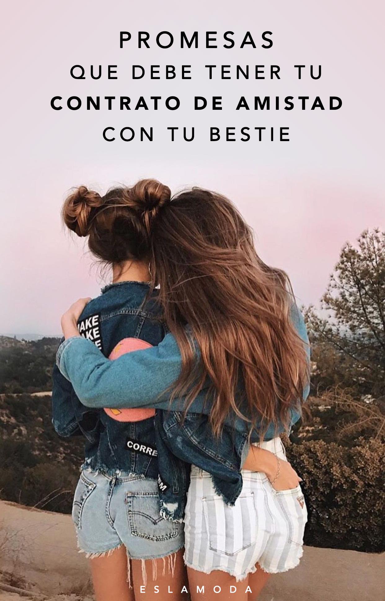20 Promesas Que Debe Tener Tu Contrato De Amistad Con Tu