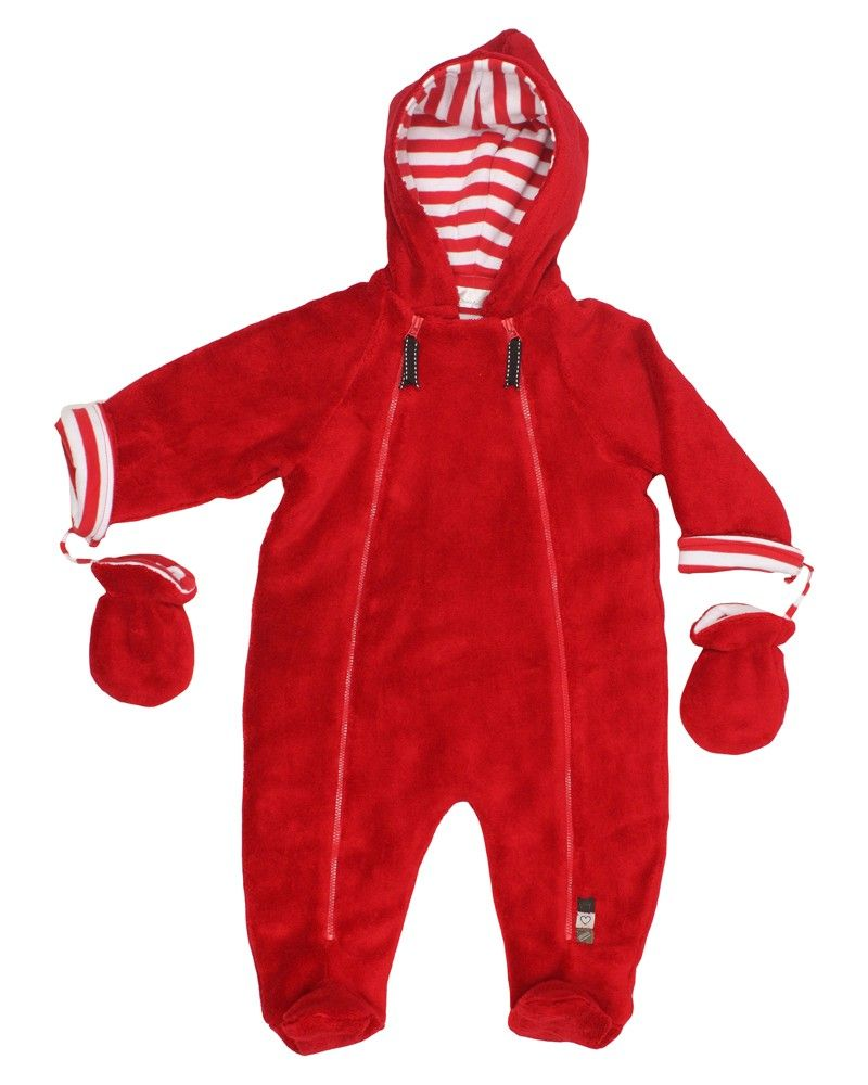 0d8f3b9fa Unisex Red Fur Baby Pramsuit - Baby Pram Suits   Snow suits - View ...