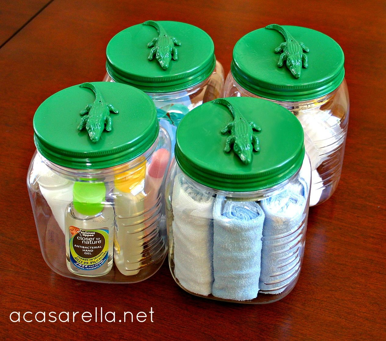 Just Jars To Make These Cute Alligator Jars You Just Glue Plastic