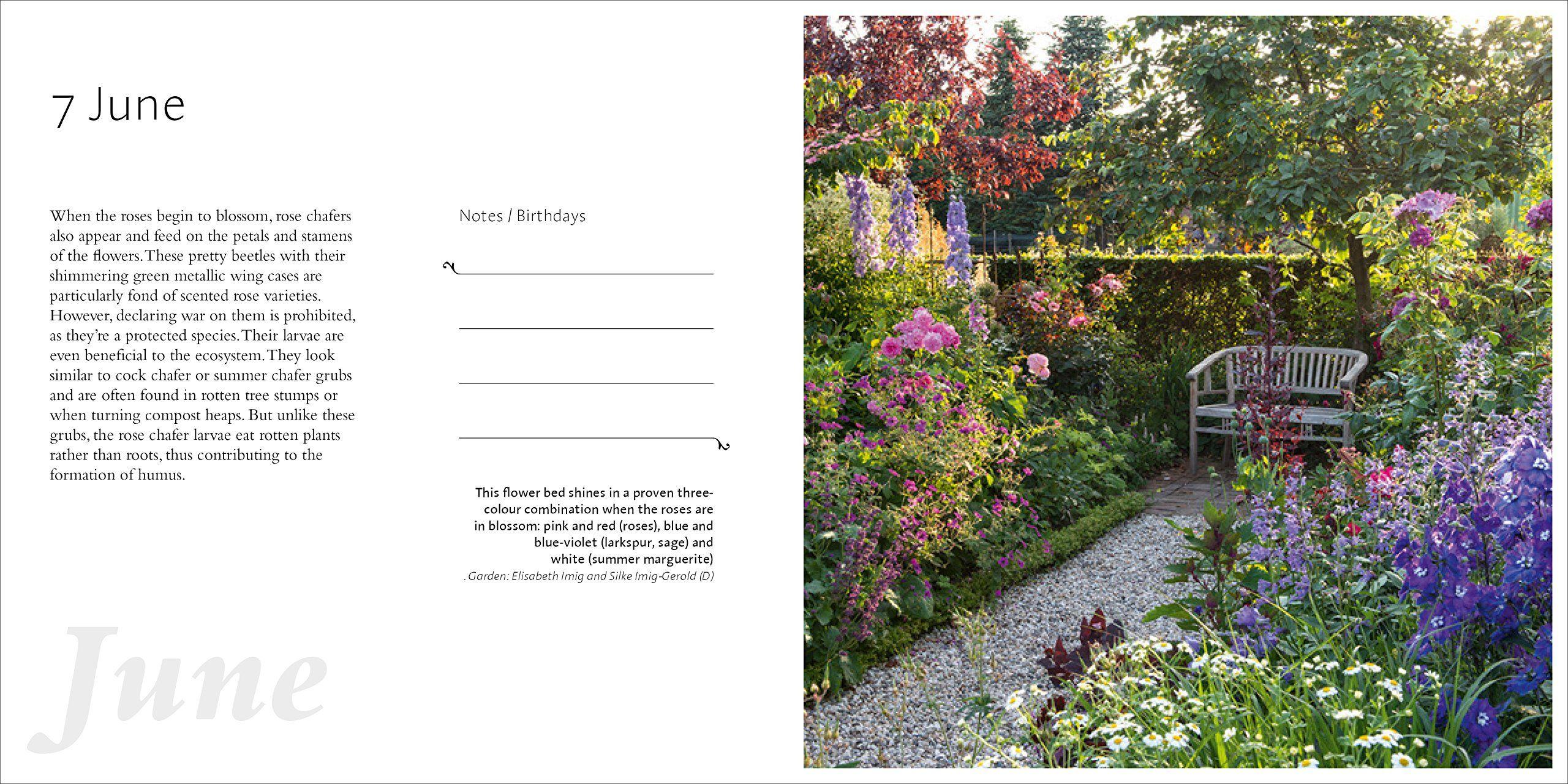 A Year In The Garden 365 Inspirational Gardens And Gardening Tips Gisela Keil Thomas Hagen Jurgen Becker Garden Gardening Tips Inspiration