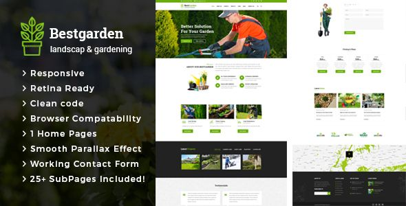 Bestgarden - Gardening and Landscaping HTML Template (Business) - http://wpskull.com/bestgarden-gardening-and-landscaping-html-template-business/wordpress-offers