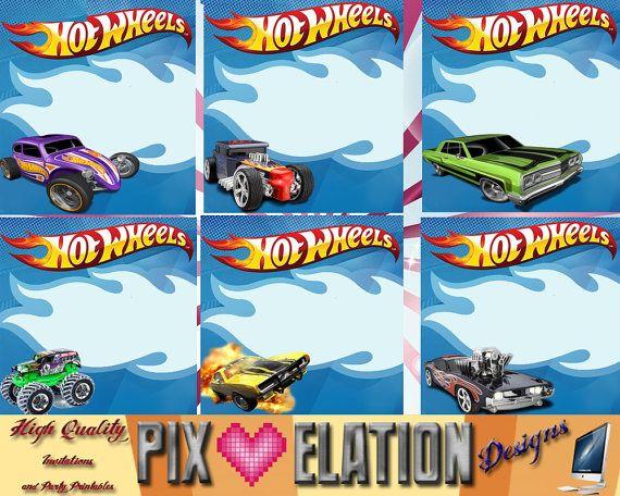 printable hot wheels birthday cards …   pinteres…, Invitation templates