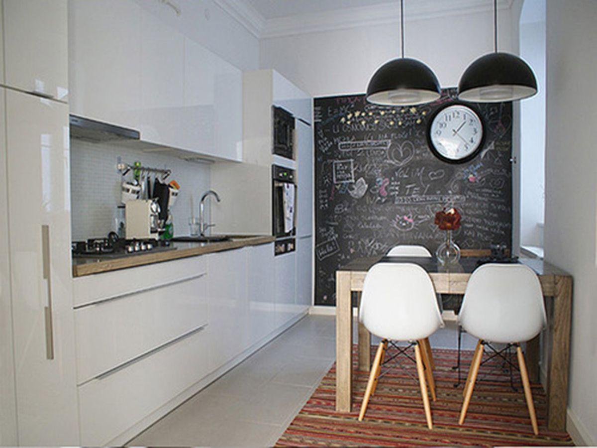 Pomysl Na Farba Tablicowa Wnetrzarski Home Interior House Interior