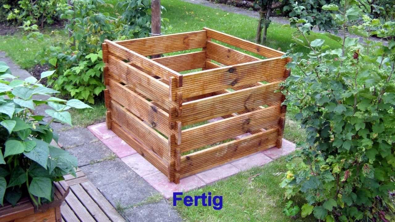 wir bauen einen komposter | komposter | pinterest, Moderne