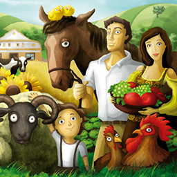 Family Farm checking this new game out