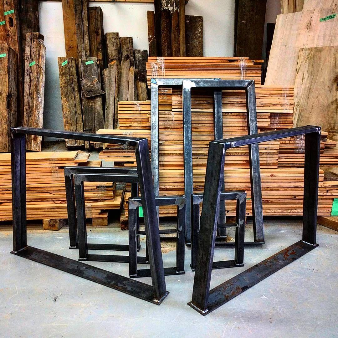 Fabricated Steel Coffee Table: Barnboardstore.com Now Carries Metal Legs