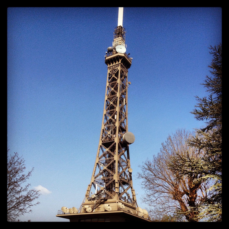 La tour des télécommunications de Lyon