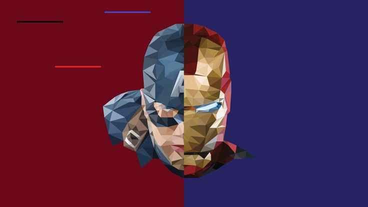 iron man captain america #abstract #hd #4k #5k #8k #artist #artwork #8K #wallpaper #hdwallpaper #desktop<br>