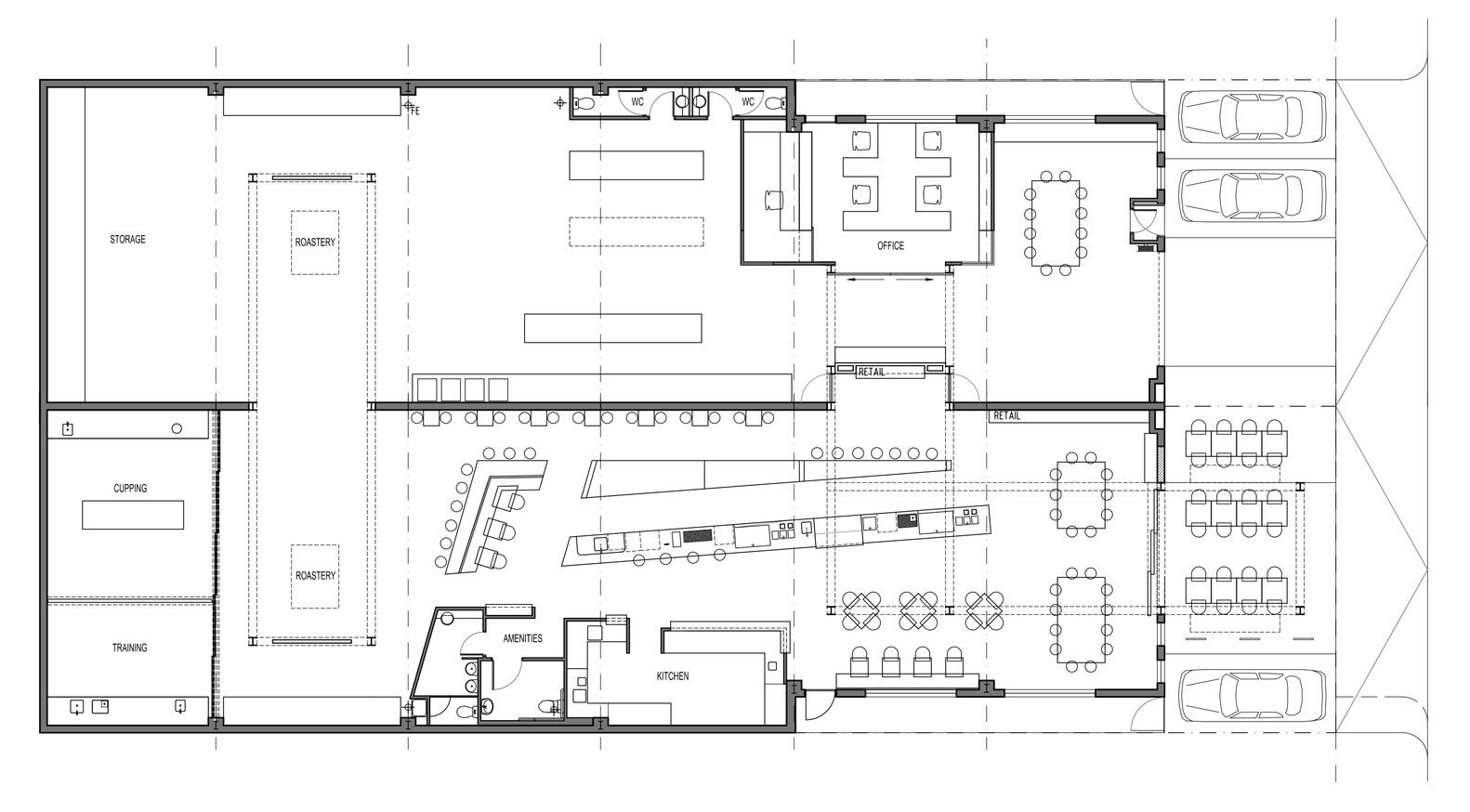 Gallery of code black coffee zwei interiors architecture 16