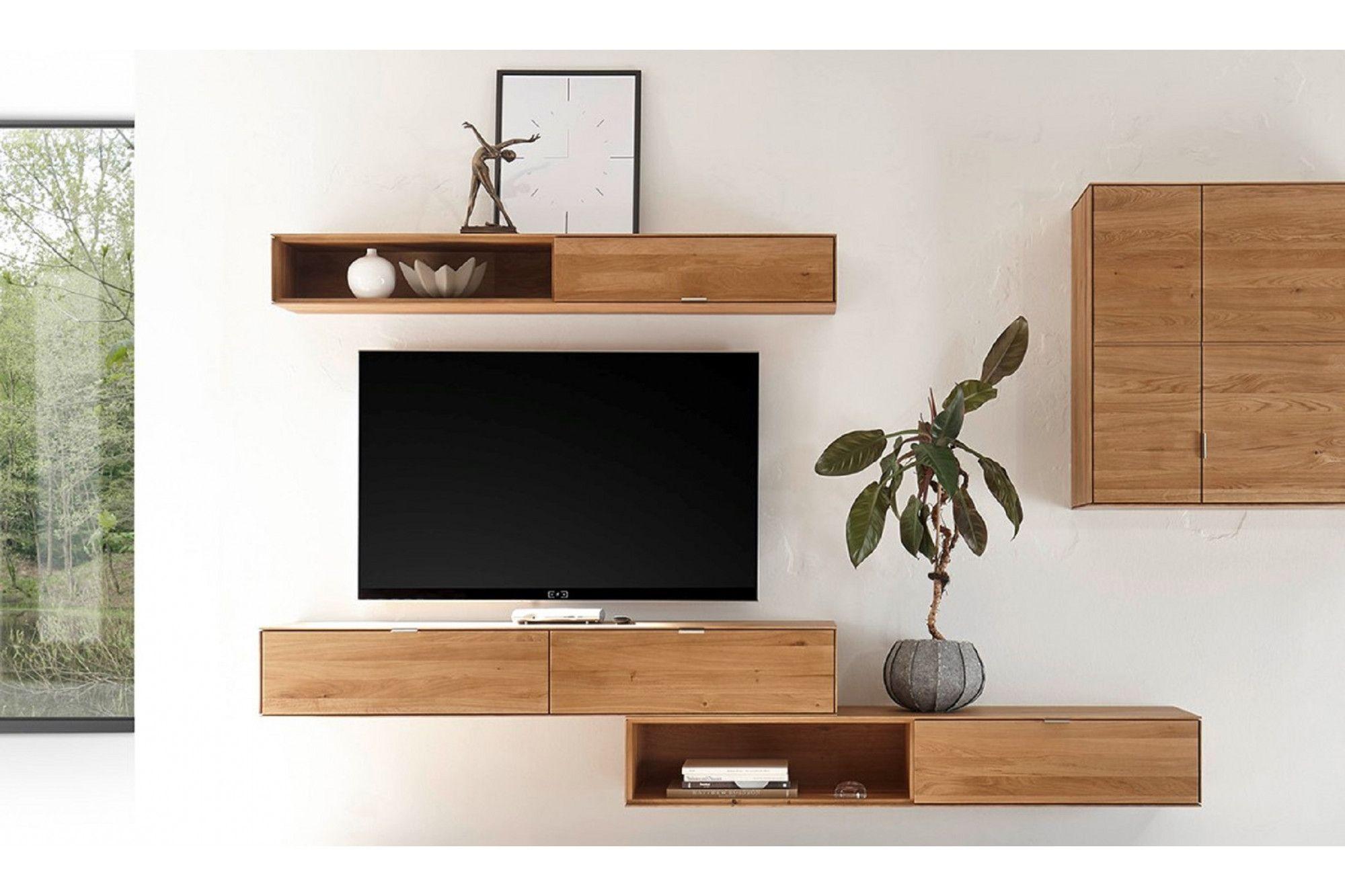 meuble suspendu salon deco meuble tv