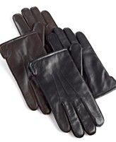Ralph Lauren; Napa Leather, Fleece Lined