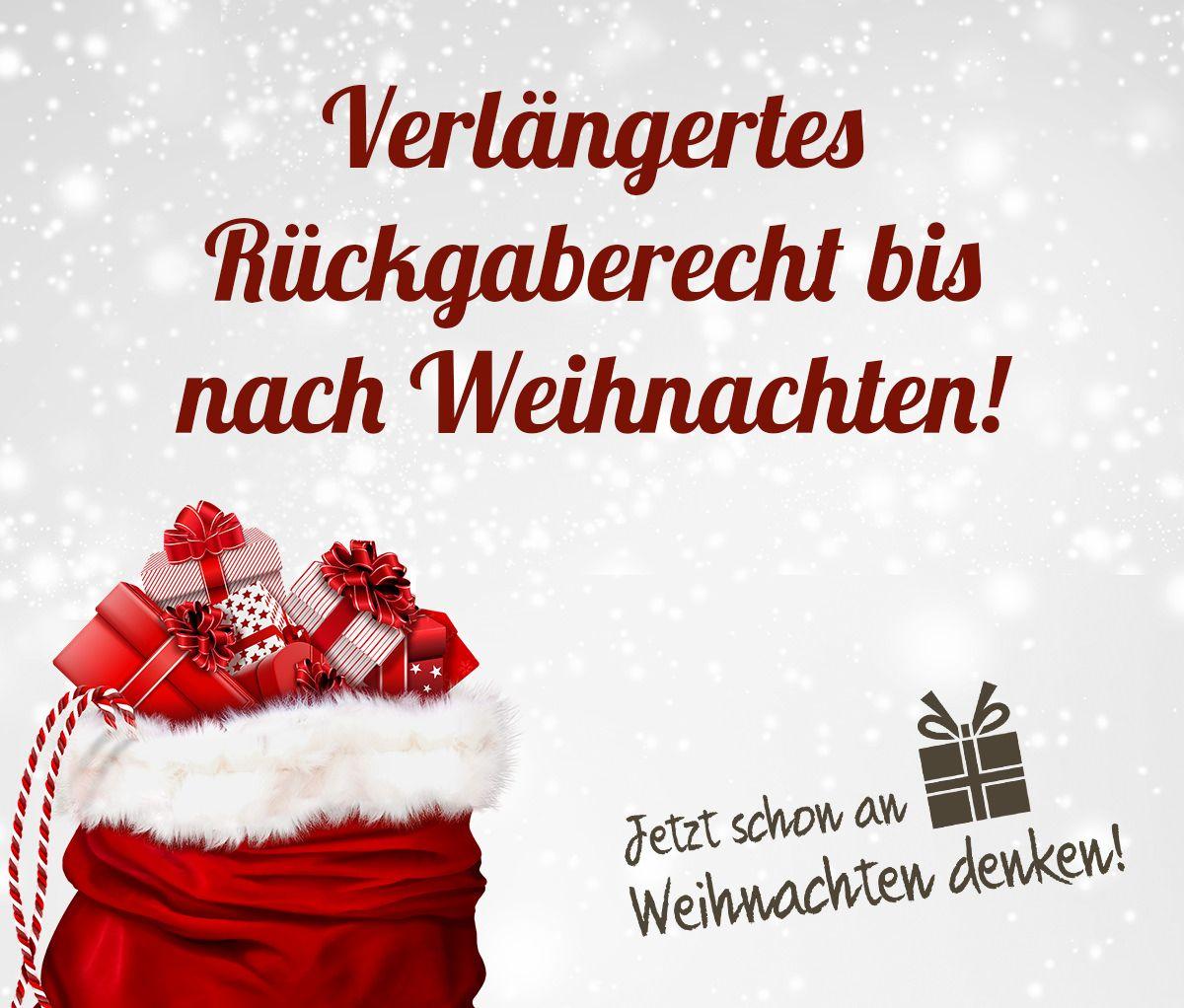Jetzt schon an Weihnachten denken und Stressfrei Geschenke shoppen ...