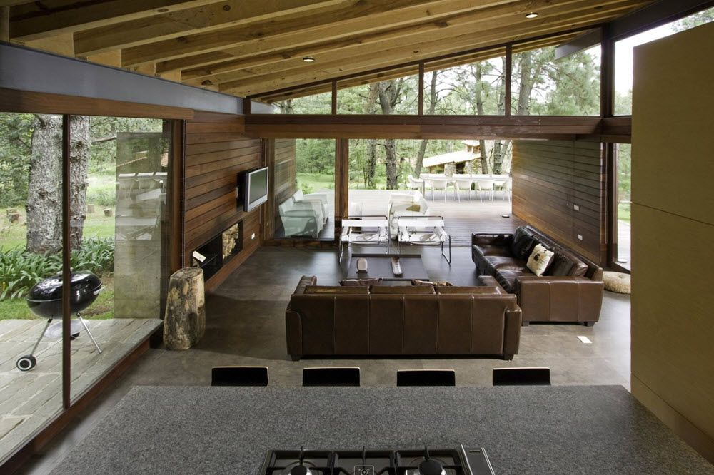 Diseo casas de campo valle ud anterior casa interiores for Casa moderna ud
