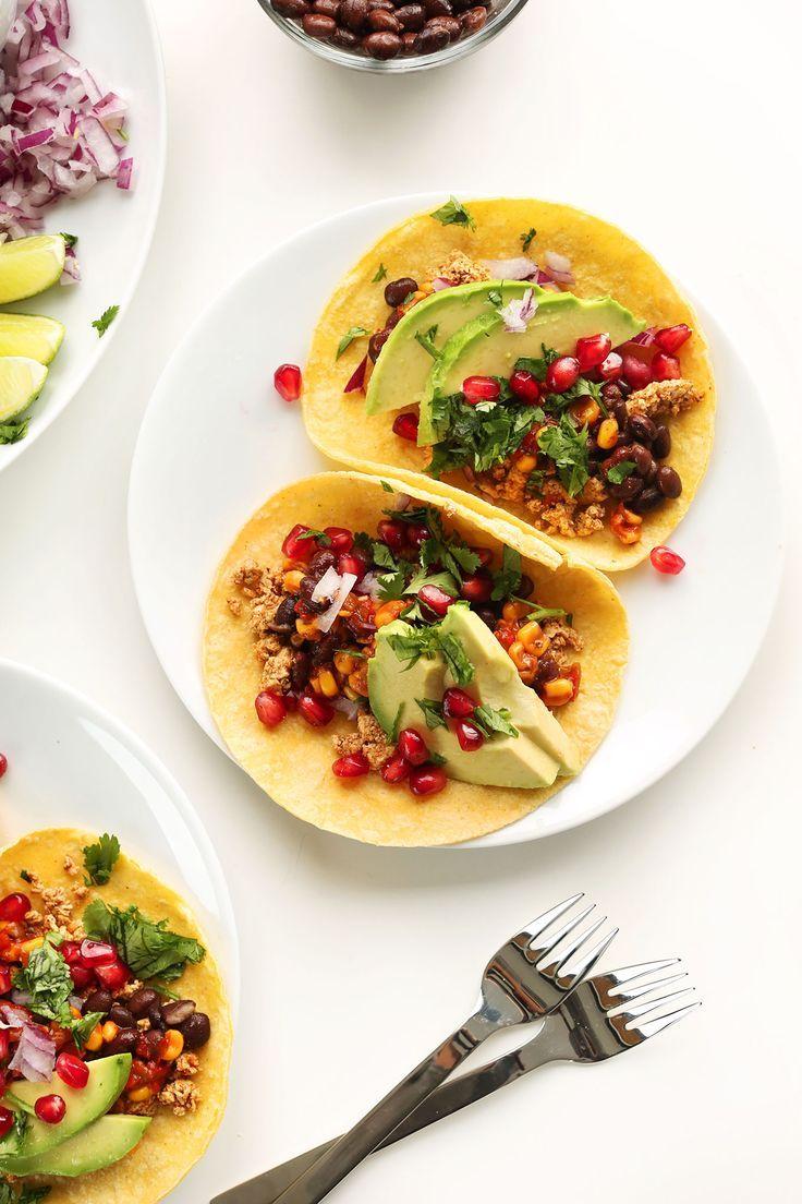 Vegan Breakfast Tacos Minimalist Baker Recipes Recipe Vegan Meal Prep Vegan Breakfast Easy Quick Healthy Breakfast