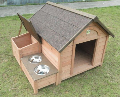 Amazon Com Dh 12 Dog House Outdoor Indoor Wooden Dog House