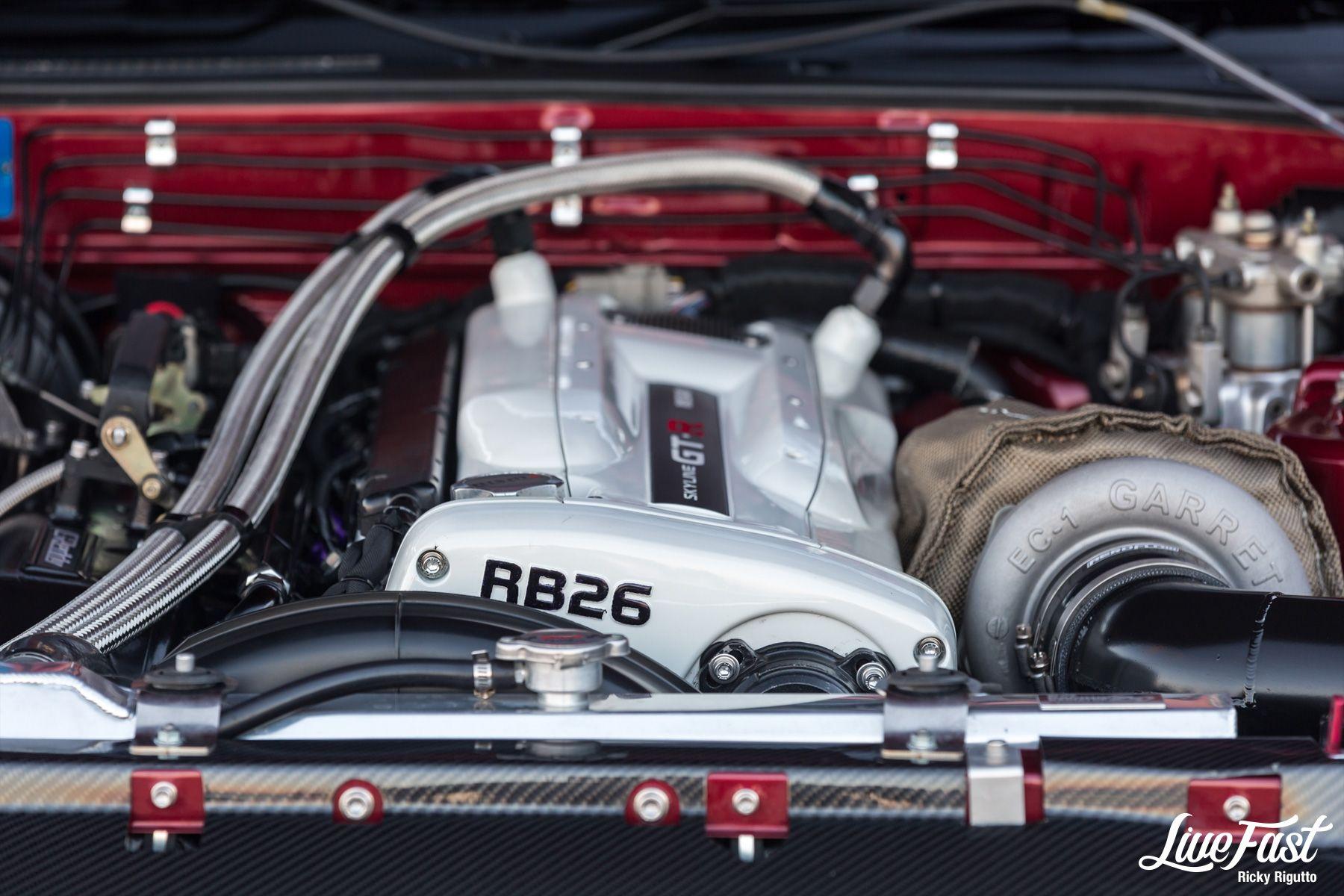 ANTHONY'S XRB26X R32 GTR // JANUARY FEATURE เครื่องยนต์