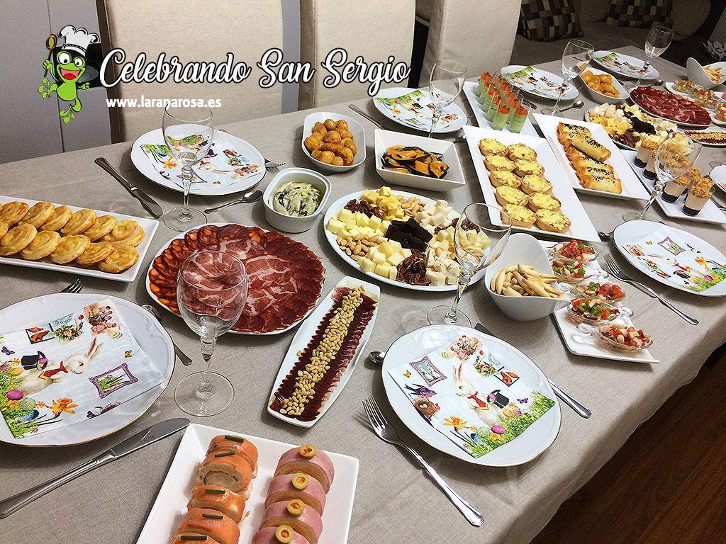 El Sábado Celebramos En Casa Una Merienda Cena Familiar Para Festejar El Santo De Sergio Mi Peque Os Enseño Los Comidas Familiares Meriendas Cena Cumpleaños