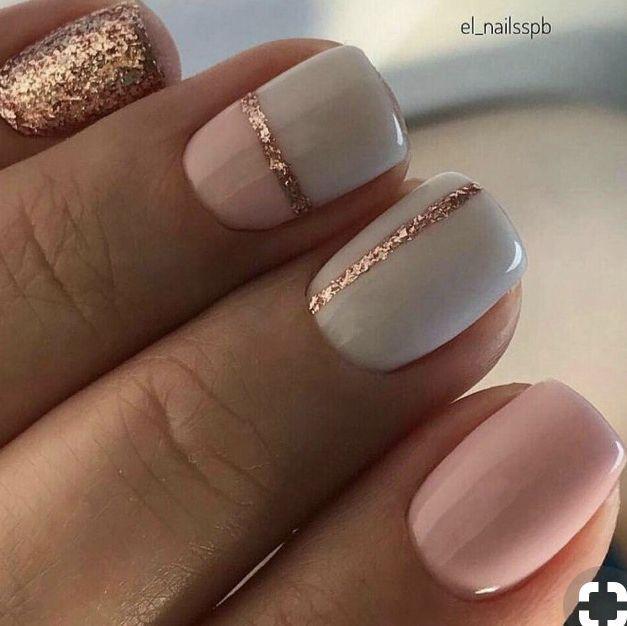 simple summer nail design
